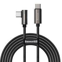 Baseus Legend Series Elbow Fast Charging USB Type C - USB Type C 100W 5A 2m black (CATCS-A01)
