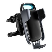 Baseus Milky Way 15W wireless Qi car charger phone automatic holder black (WXHW02-01)
