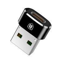Baseus converter USB Type-C to USB Adapter Connector black (CAAOTG-01)