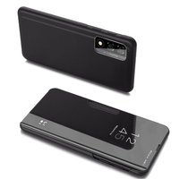 Clear View Case cover for Realme 7 black
