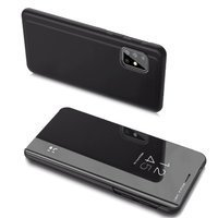 Clear View Case cover for Samsung Galaxy A20s black