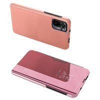 Clear View Case cover for Xiaomi Redmi Note 10 Pro pink