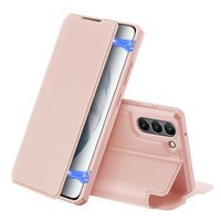 DUX DUCIS Skin X Bookcase type case for Samsung Galaxy S21 FE pink