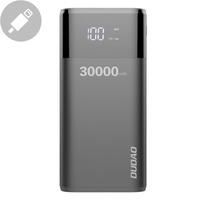 Dudao Power Bank 4x USB 30000mAh with Display 4A black (K8Max black)