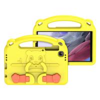 Dux Ducis Panda kids safe soft tablet case for Samsung Galaxy Tab A7 Lite yellow