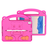 Dux Ducis Panda kids safe soft tablet case for iPad 9.7'' 2018 / iPad 9.7'' 2017 with a holder for stylus pen pink