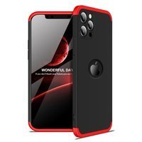 GKK 360 Protection Case Front and Back Case Full Body Cover iPhone 12 Pro black