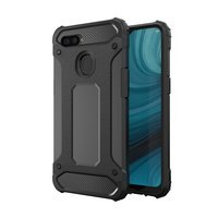 Hybrid Armor Case Tough Rugged Cover for Oppo A12 / A5s / A7 black