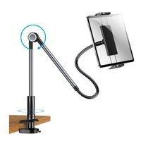 Joyroom rotary adjustment lazy holder desktop phone and tablet holder black (JR-ZS263)