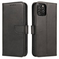 Magnet Case elegant bookcase type case with kickstand for Oppo A31 black