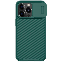 Nillkin CamShield Pro Case Durable Cover with camera protection shield for iPhone 13 Pro green