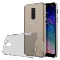 Nillkin Nature TPU Case Gel Ultra Slim Cover for Samsung Galaxy A6 Plus 2018 A605 grey