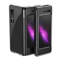 Plating Case hard case Electroplating frame Cover for Samsung Galaxy Fold black