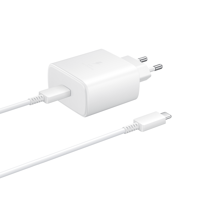 Samsung original wall charger Super Quick Charge 45W USB Typ C white (EP-TA845XWEGWW)
