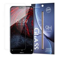 Tempered Glass 9H Screen Protector for Nokia 6.1 Plus / Nokia X6 2018 (packaging – envelope)