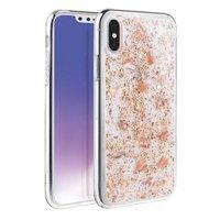 UNIQ etui Lumence Clear iPhone Xs Max różowo-złoty/Rosedale rose gold