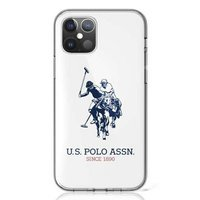 US Polo USHCP12STPUHRWH iPhone 12 mini white / white Shiny Big Logo