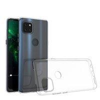 Ultra Clear 0.5mm Case Gel TPU Cover for Motorola Moto G 5G transparent