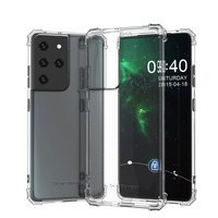 Wozinsky Anti Shock durable case with Military Grade Protection for Samsung Galaxy S21 Ultra 5G transparent