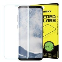 Wozinsky Tempered Glass 3D Screen Protector Full Coveraged with Frame for Samsung Galaxy S9 G960 clear