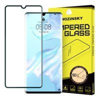 Wozinsky Tempered Glass 5D Full Glue Super Tough Screen Protector Full Coveraged with Frame for Huawei P30 Pro black