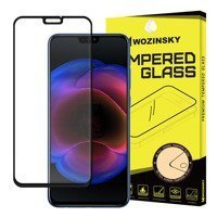 Wozinsky Tempered Glass Full Glue Super Tough Screen Protector Full Coveraged with Frame Case Friendly for Huawei Honor 8X black