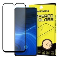 Wozinsky Tempered Glass Full Glue Super Tough Screen Protector Full Coveraged with Frame Case Friendly for Realme X2 Pro black
