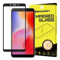 Wozinsky Tempered Glass Full Glue Super Tough Screen Protector Full Coveraged with Frame Case Friendly for Xiaomi Redmi 6A black