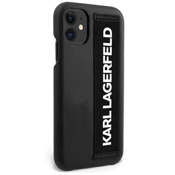 """Karl Lagerfeld KLHCP12SSTKLBK iPhone 12 mini 5.4 """"black / black hardcase"""