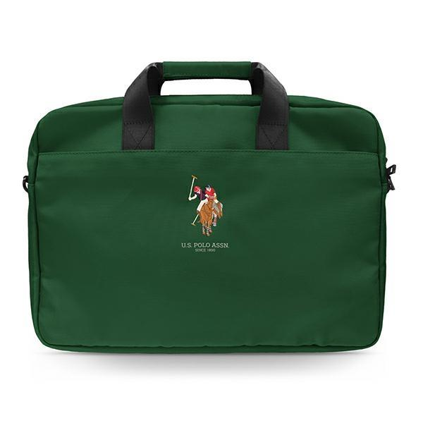 "US Polo Bag USCB15PUGFLGN 15 ""green / green"