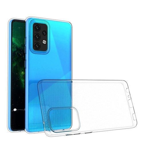 Ultra Clear 0.5mm Case Gel TPU Cover for Samsung Galaxy A52 5G / A52 4G transparent