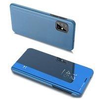 Clear View Case futerał etui z klapką Samsung Galaxy A20s niebieski
