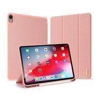 DUX DUCIS Domo składany pokrowiec etui na tablet podstawka iPad Air 2020 różowy (brak Smart Sleep)