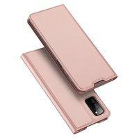 Dux Ducis Skin Pro kabura etui pokrowiec z klapką Samsung Galaxy A03s różowy