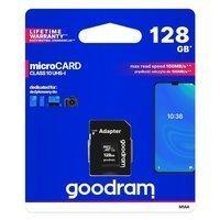 Goodram Microcard 128 GB karta pamięci micro SD XC UHS-I class 10, adapter SD (M1AA-01280R12)