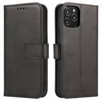 Magnet Case elegancki futerał etui pokrowiec z klapką i funkcją podstawki Samsung Galaxy A50s / Galaxy A50 / Galaxy A30s czarny