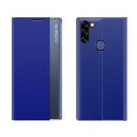 New Sleep Case pokrowiec etui z klapką z funkcją podstawki Samsung Galaxy A11 / M11 niebieski