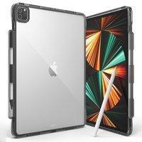 Ringke Fusion etui pokrowiec z żelową ramką iPad Pro 12.9'' 2021 czarny ()