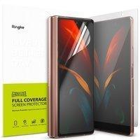 Ringke Invisible Defender zestaw folii ochronnych na dwa wyświetlacze ekrany Samsung Galaxy Z Fold 2 5G (I8D015)