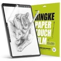 """Ringke PAPER TOUCH 2x twarda matowa folia jak papier paper-like do rysowania na tablecie iPad Pro 12.9"""" 2021/ 2020/ 2018 przezroczysty (PF14H042)"""