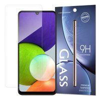 Tempered Glass szkło hartowane 9H Samsung Galaxy A22 4G (opakowanie – koperta)