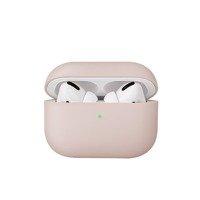 UNIQ etui Lino AirPods Pro Silicone różowy/blush pink