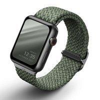 UNIQ pasek Aspen Apple Watch 44/42/45mm Braided zielony/cypress green