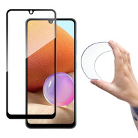 Wozinsky Full Cover Flexi Nano folia szklana szkło hartowane z ramką Samsung Galaxy A42 5G przezroczysty