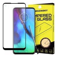 Wozinsky super wytrzymałe szkło hartowane Full Glue na cały ekran z ramką Case Friendly Motorola Moto G Stylus / Motorola Moto G Pro czarny