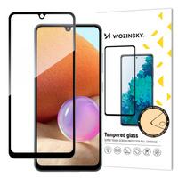Wozinsky super wytrzymałe szkło hartowane Full Glue na cały ekran z ramką Case Friendly Samsung Galaxy A32 4G czarny