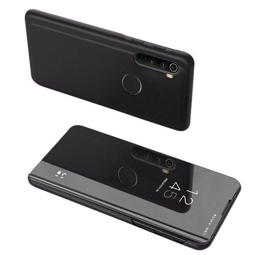 Clear View Case futerał etui z klapką Samsung Galaxy A11 / M11 czarny