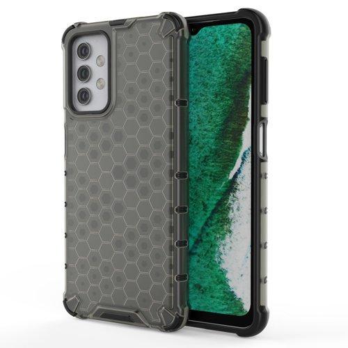 Honeycomb etui pancerny pokrowiec z żelową ramką Samsung Galaxy A32 5G czarny