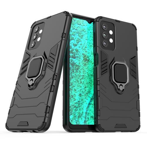Ring Armor pancerne hybrydowe etui pokrowiec + magnetyczny uchwyt Samsung Galaxy A32 5G czarny