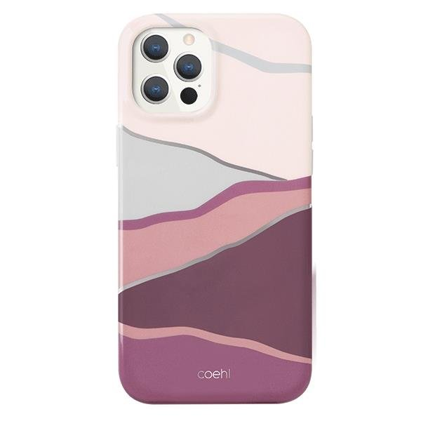 UNIQ Coehl Ciel etui na iPhone 12 Pro / iPhone 12 różowy
